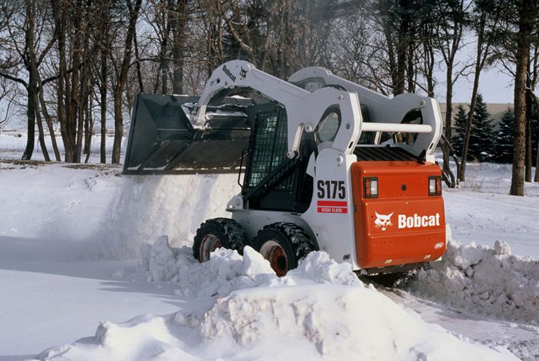 Спецтехника для уборки снега